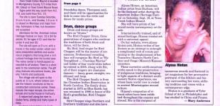 Town Creek Article