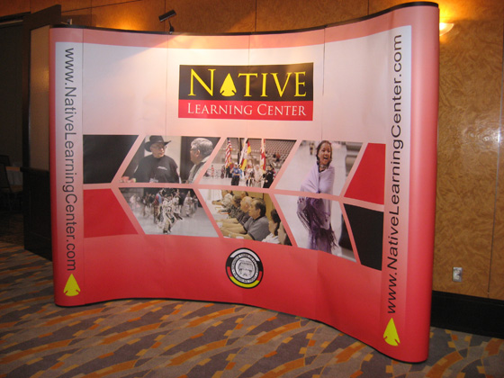 The Native Learning Center Conference Sign at the Hard Rock Hotel & Casino, All of Which Are Owned by the Seminole Tribe of Florida!