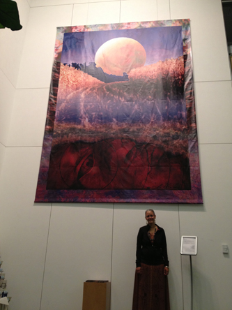 """Huge Banner of """"Autumn Moon"""""""