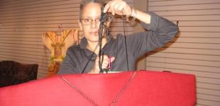 Alyssa Hinton Installing at the Kirby