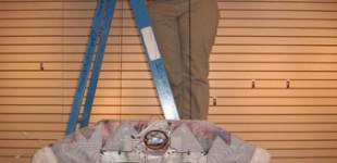 Alyssa Hinton Installing at the Kirby 4