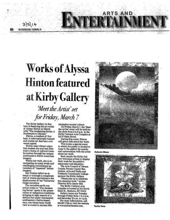 HINTON at the Kirby