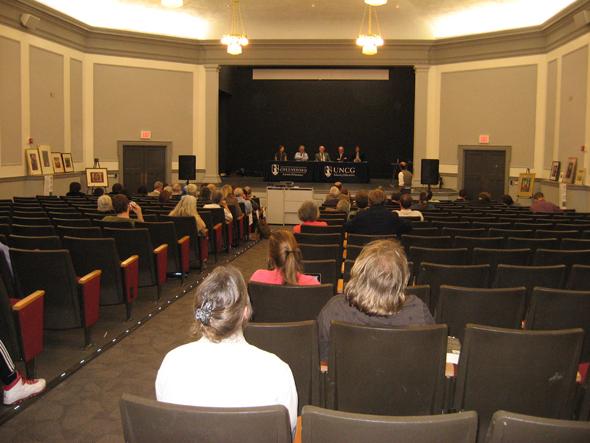 Alyssa Hinton's Art at UNCG- Reimagining Undergraduate Education- Panel Discussion Discussion