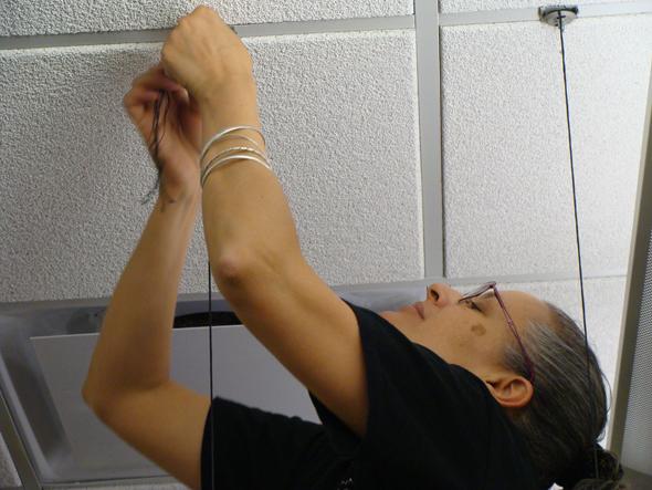 Alyssa Hinton, IIEA Installation Tying
