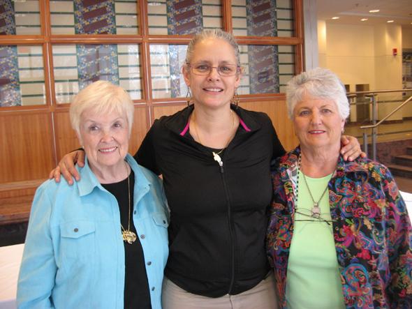 Jean Beasley, Alyssa Hinton & Sandy Sly