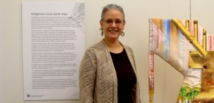 Alyssa Hinton- IIEA text Panel, Deer Power Dress