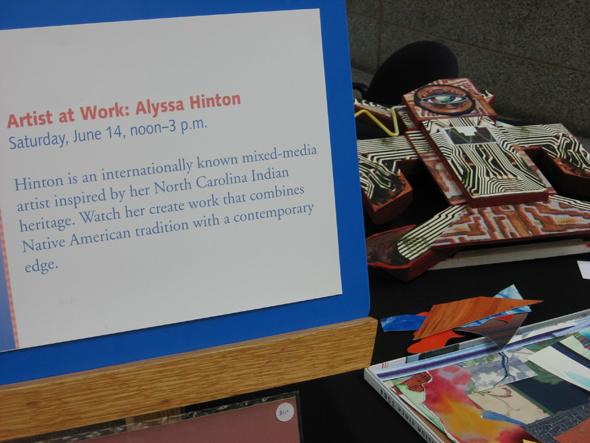 Alyssa-Hinton-Hist-Museum-Artist-at-Work