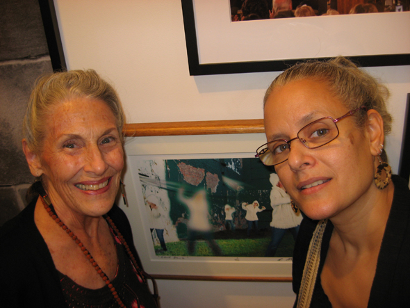 Alyssa Hinton & Adrienne Garnett, Truth To Power 2 opening
