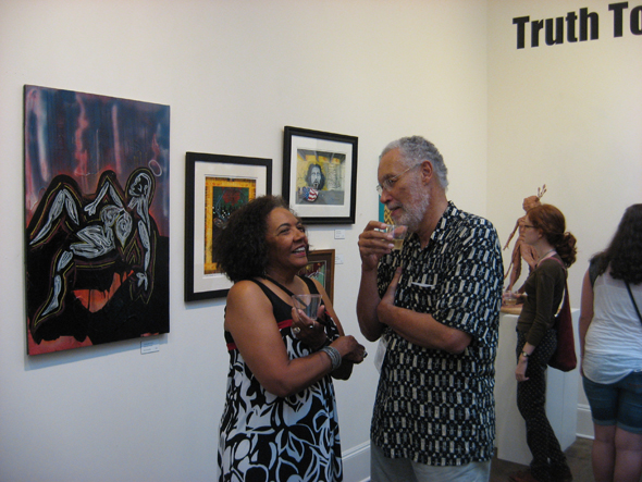 Beverly Stevenson and Jim Lee, Truth To Power 2 opening