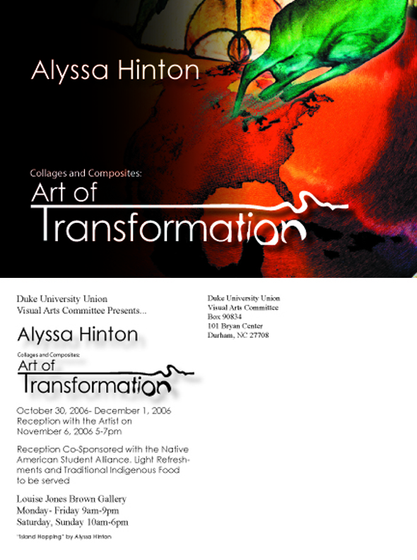 Art of Transformation Post Card