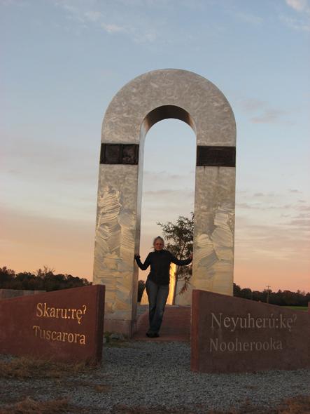 HINTON- Tuscarora Neyuherú-ke Memorial, Snow Hill, NC