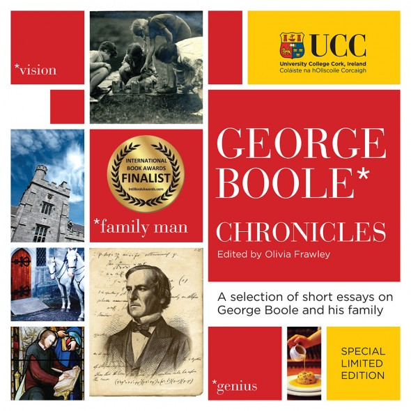 George Boole Chronicles with Finalist Sticker