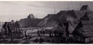 City of Cahokia Near Present Day St.Louis, Missouri